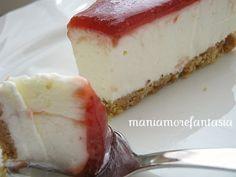 Cheesecake senza cottura... semplicissima!!!