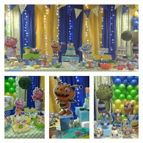 Henry Hugglemonster Birthday Party
