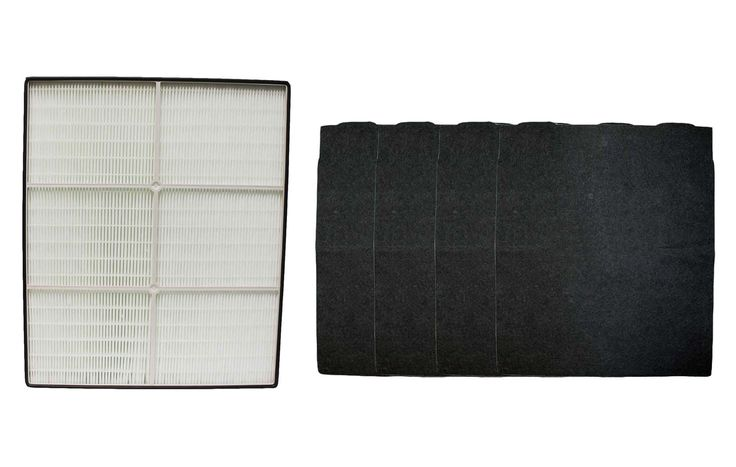4 Whirlpool Pre-Filters & 1 HEPA Filter Fit Select Whispure Air Purifiers | Part # 8171434K & 1183054/K