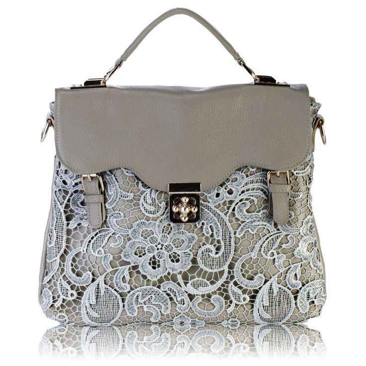 New - European and American vintage plum buckle handbag - lace bag Mobile Messenger