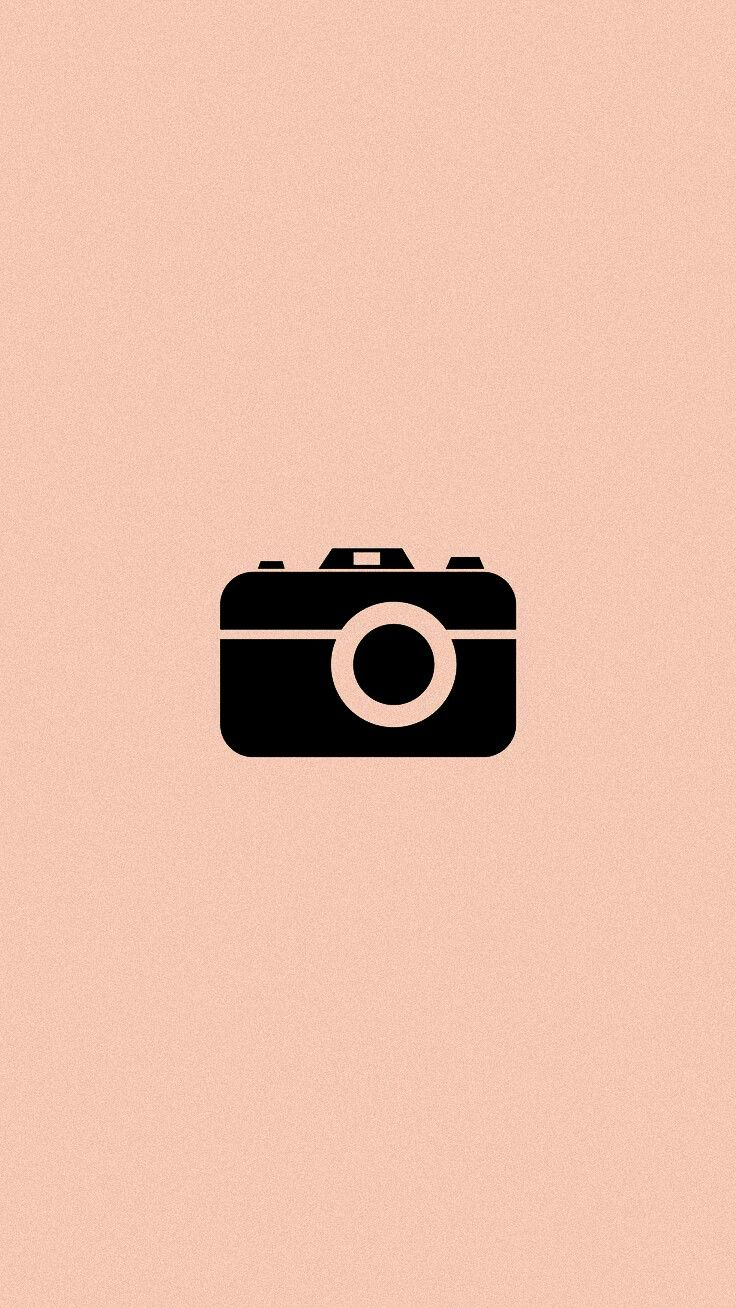 Instagram Destaques Icons Cam Camera Photo Photography Pink Black Feed Gambar Hewan Lucu Gambar Gambar Hewan