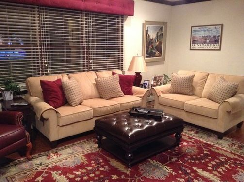 red and brown living room curtains light grey sofa decor how to decorate around burgundy gold ...