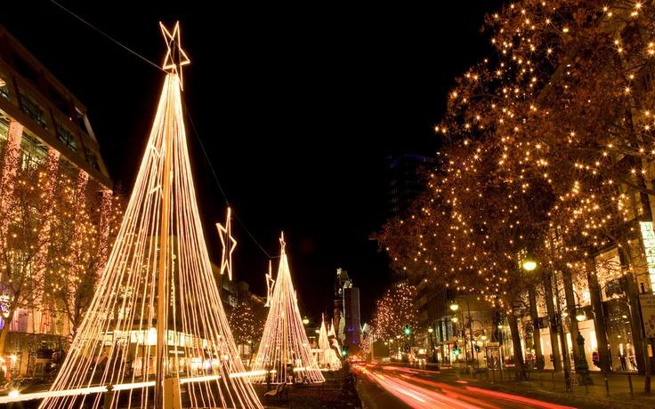 Christmas on the  Kurfurstendamm. Better than 5th Avenue