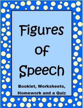 20 figures of speech Any form of expression in which language is manipulated for rhetorical effect  around ad 95, quintilian defined the figure of speech as 'a.