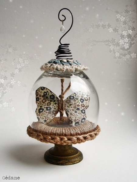 DIY with a wine glass... @Design Unlimited Hamilton Hamilton pearsall, this would be the Right end!