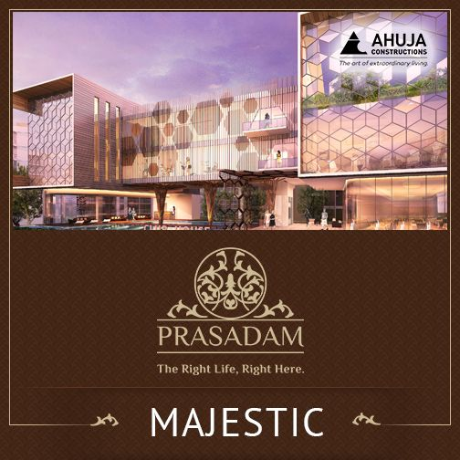 Majestic #Prasadam  Awe inspiring landscape, lush green facilities is all you have dreamt of.  Book your dream home with #Prasadam today: http://prasadam.in/