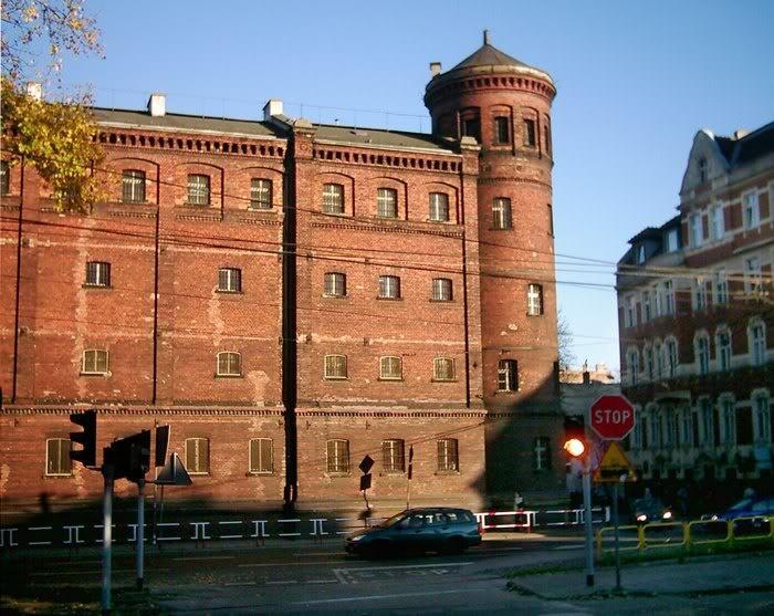 budynek więzienia z XIX w.│ul. Powstańców Warszawskich │Bytom