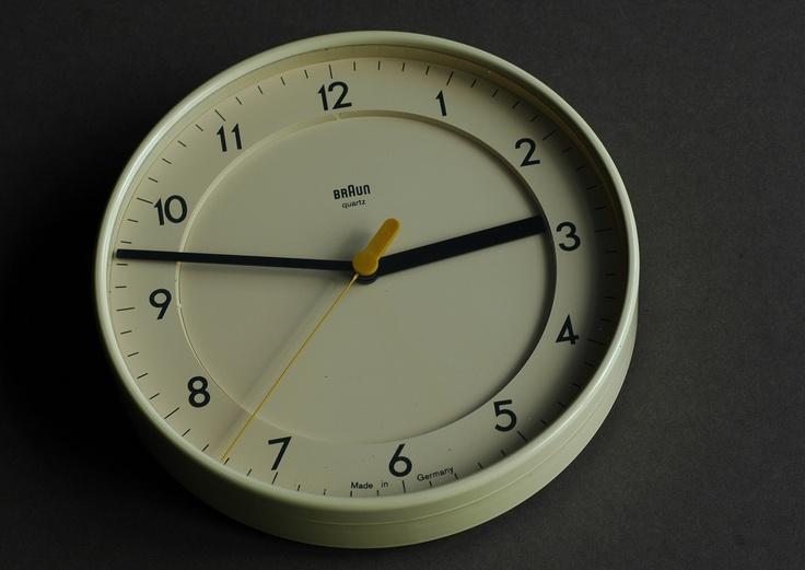Braun ABK 31 wall clock (Dietrich Lubs, 1985) 120 GBP