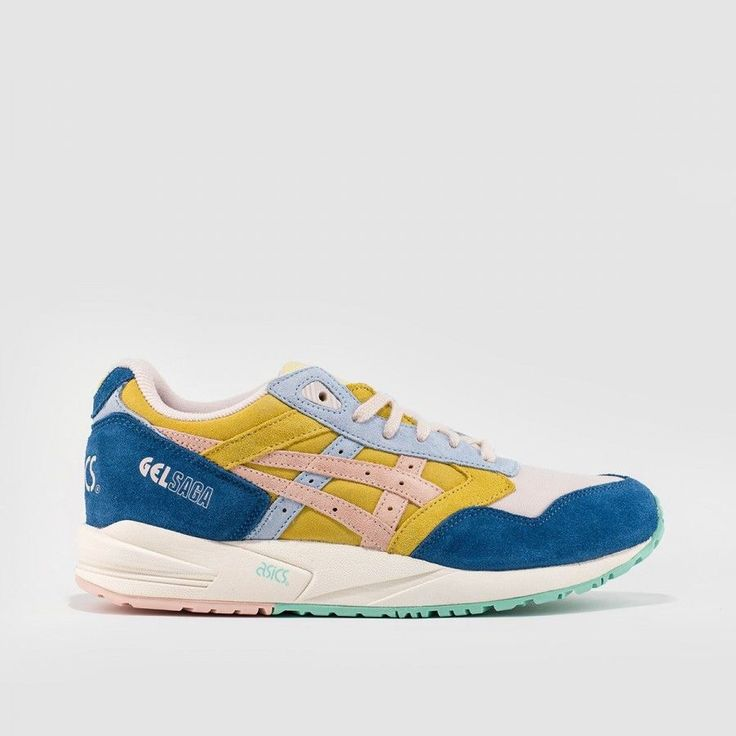Lily Brown x Asics Gel Saga (Yellow/Peach/Blue)