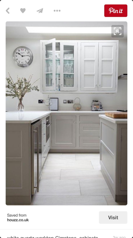 Best 62 Best Gray Kitchen Cabinets Images On Pinterest Grey 400 x 300