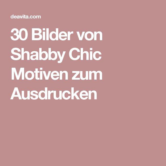 30 bilder von shabby chic motiven zum ausdrucken shabby. Black Bedroom Furniture Sets. Home Design Ideas