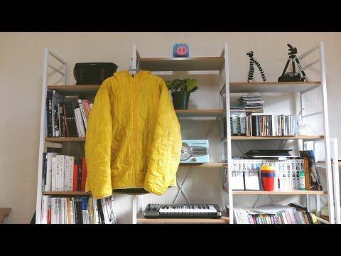 마이너 리뷰 - 유니클로 노란깔깔이 - YouTube