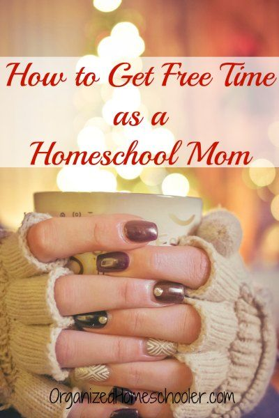 Sometimes you just need a break! Check how my tips on how to get free time as a homeschool mom. #homeschoolmom #freetime