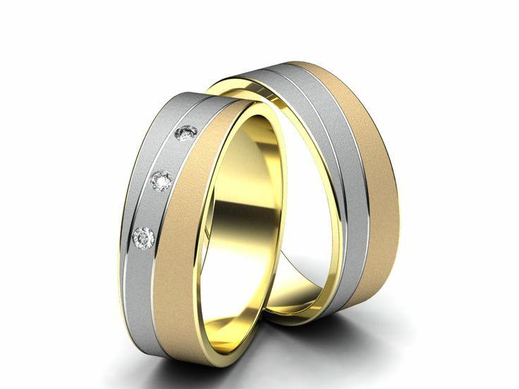 Snubní prsteny A 2660  #aiola #wedding #rings