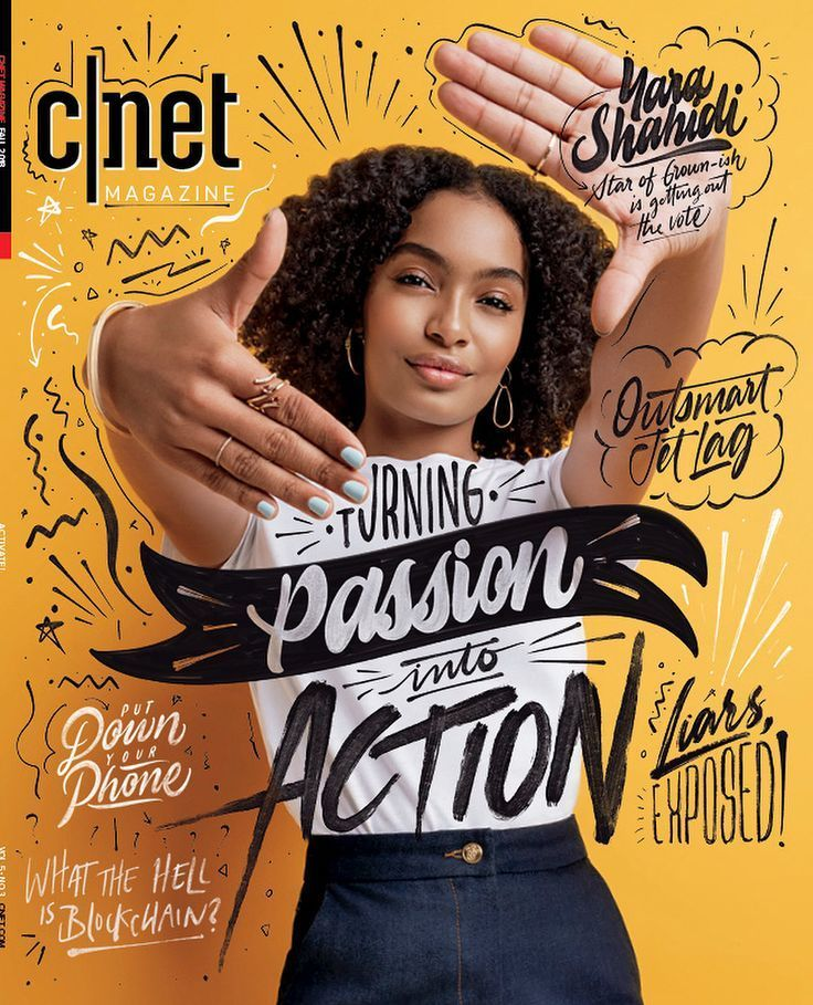 Yara Shahidi deckt das CNET Magazine im September …