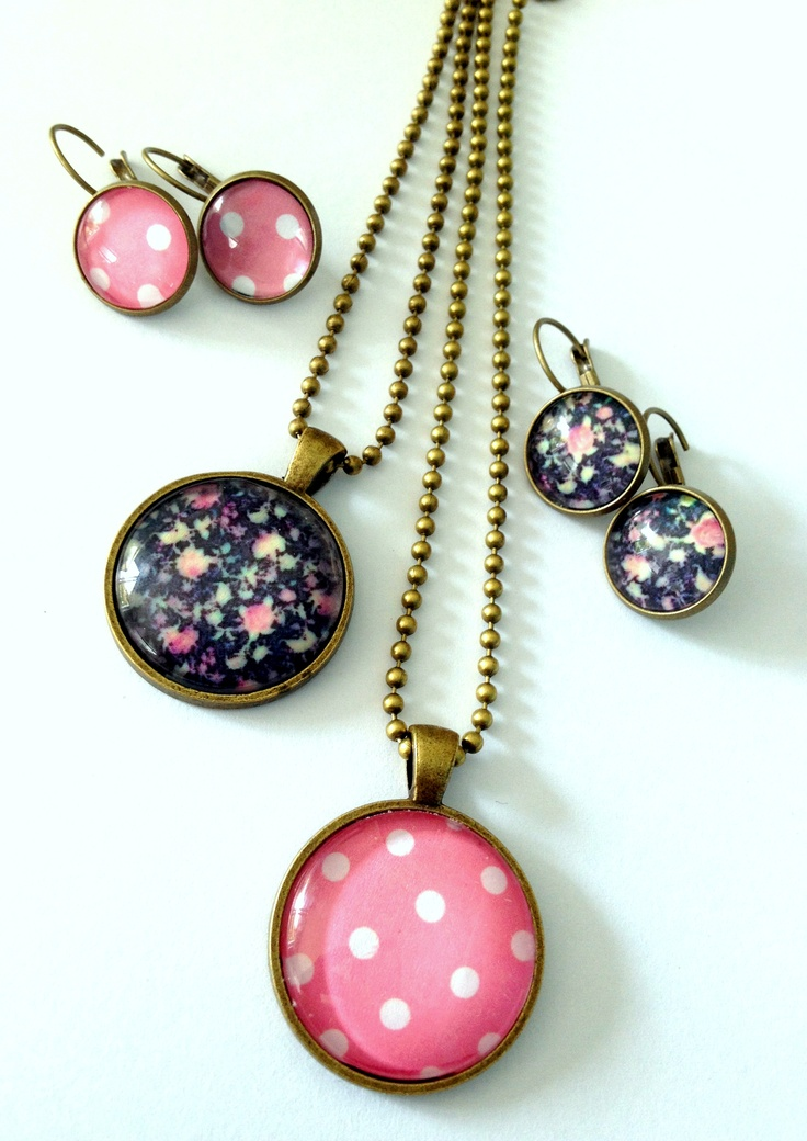 Denim delights- a collection of Glass dome Jewellery