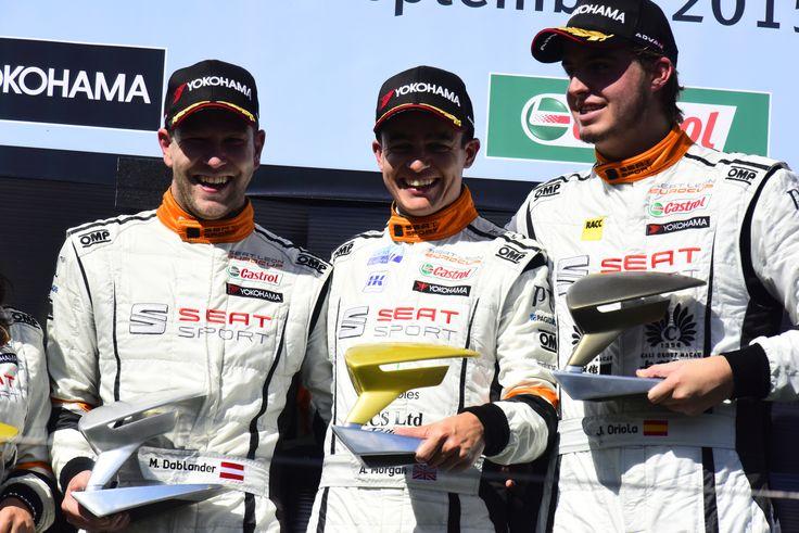 SEAT Leon Eurocup 2015. Nürburgring. Race 2.