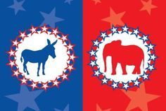 View a list of major American political parties and compare them by ideology, prominent members, recent history, and stances on important issues.