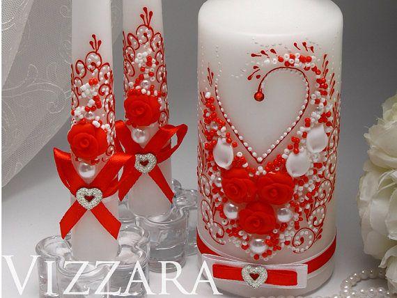 Cérémonie ensemble accessoires de mariage mariage Royal rouge