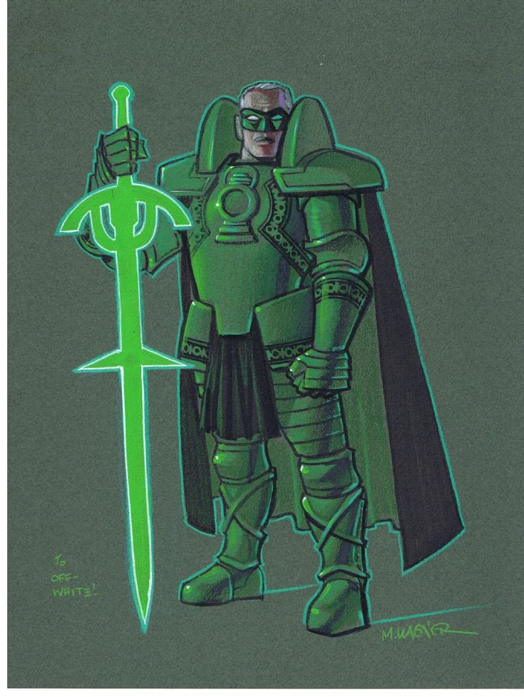 Kingdom Come Green Lantern by Matt Wagner