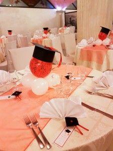 Allestimento tavoli per una festa di laurea #allestimento #tavoli #laurea #Napoli #Campania