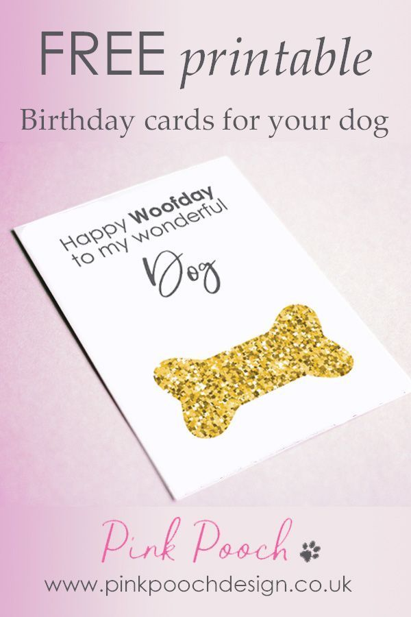 Get Your Selection Of Free Printable Birthday Cards For Dog Along With The Guide On Throwing Best Party Ever