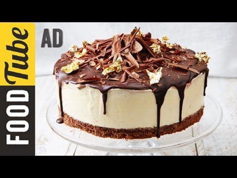 Black Forest Frozen Cheesecake | Jamie Oliver - YouTube