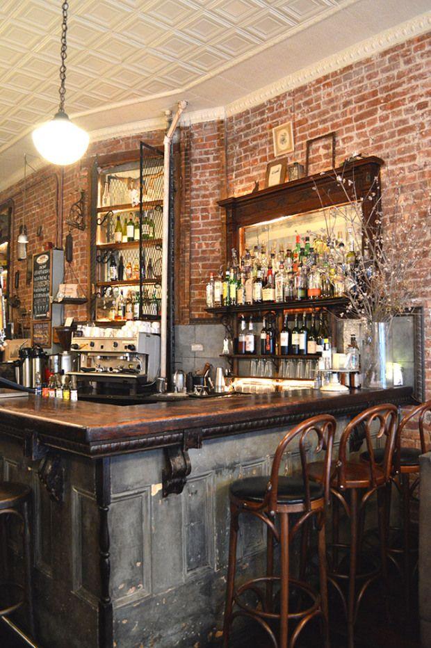 Rabbithole | Brooklyn, NY....fabulous idea for home bar!
