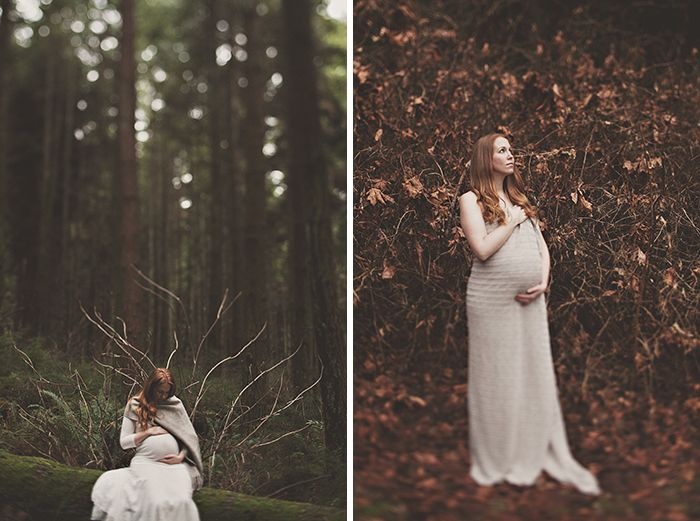 kati . beloved {maternity} session ...in the studio and the forest | Pure Light Studio