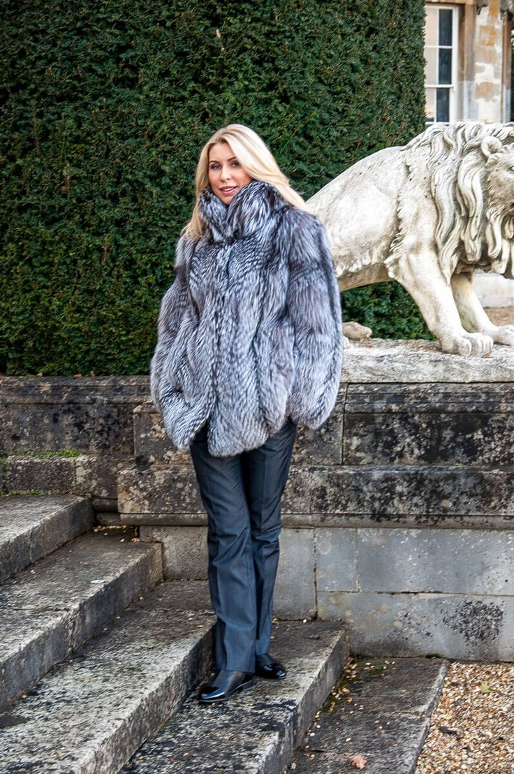 Exceptional range of real fur coats for women. View our three quarter length silver fox fur coat - crafted with care & precision. Unbeatable prices.