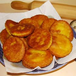 Chilean-Style Sopaipillas Allrecipes.com   Finally! An easy recipe for this delish food.