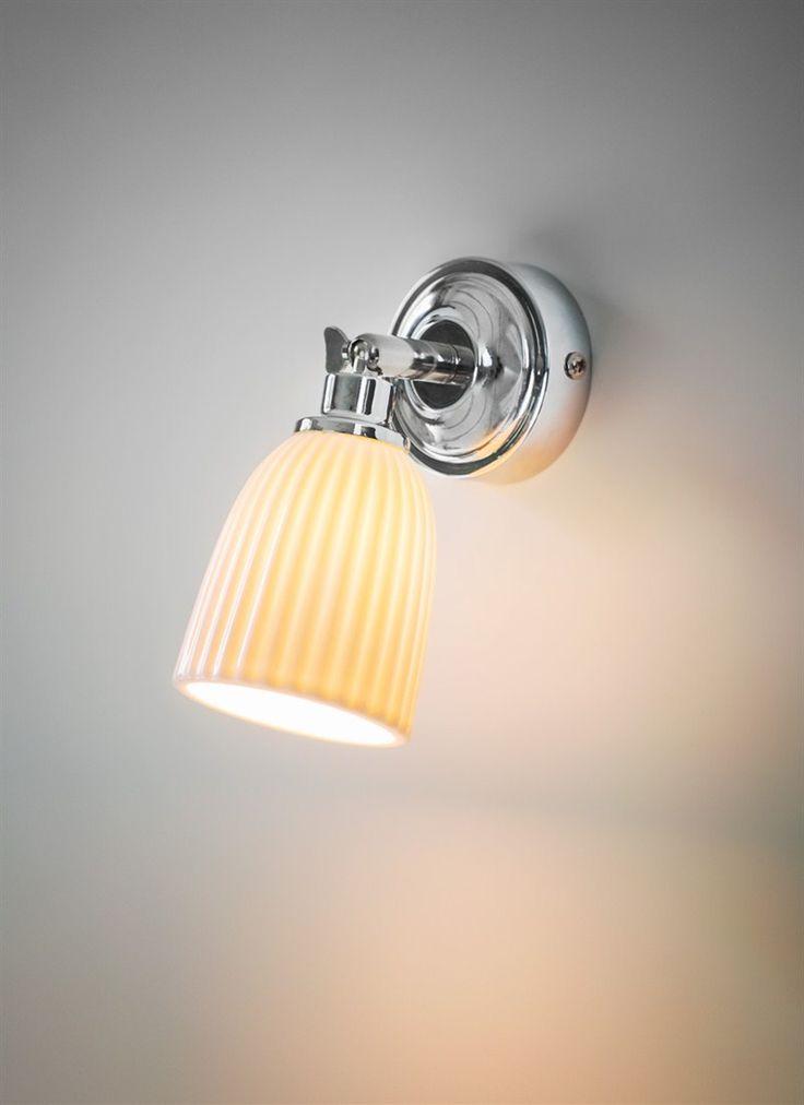 Alma Bathroom Spotlight - Ceramic