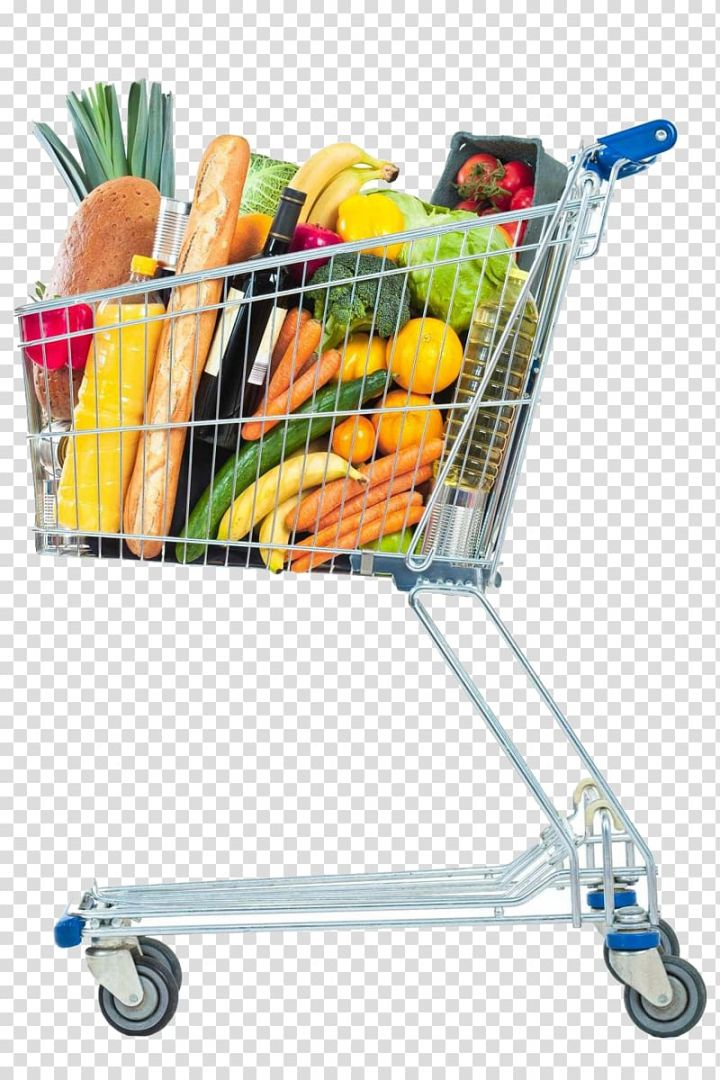 Cart Of Vegetables And Fruits Illustration Shopping Cart Supermarket Grocery Store Shopping Car Grocery Supermarket Fruit Illustration Grocery Store Shopping