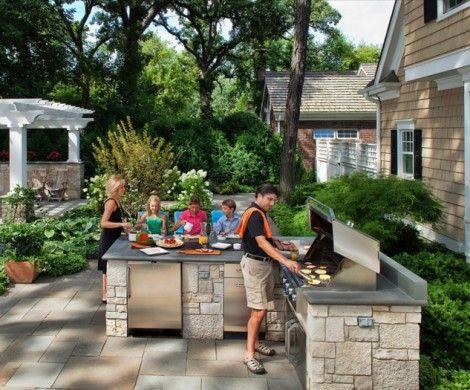 55 best Outdoorküche images on Pinterest Outdoor kitchens - grillstation selber bauen