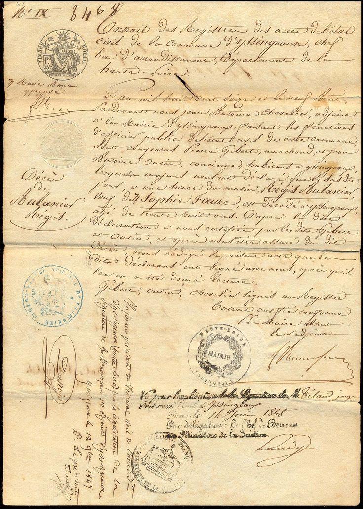 aged old vintage letter