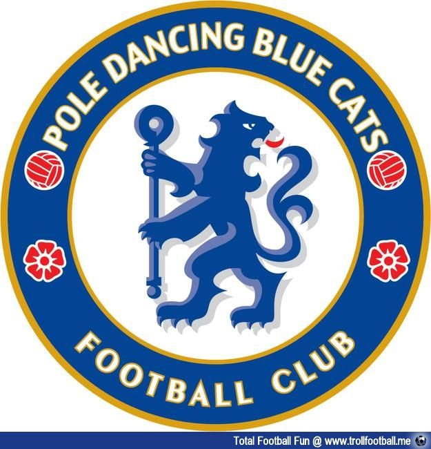 Chelsea FC's real name decided by the club badge #football #soccer #Trollfootball #CFC #ChelseaFC #ChelseaBadge