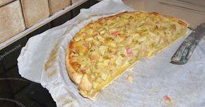 Miss Muffin houdt zich bezig: Recept: rabarbertaart met tagatesse