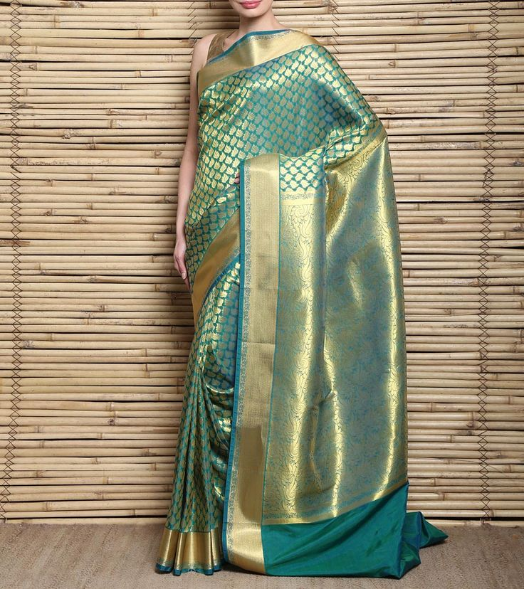 Green Kanjivaram Silk Saree
