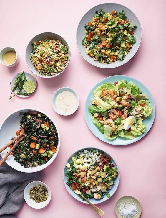 the easiest salad recipes, via @goop