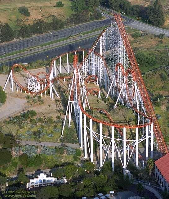Viper. Six Flags Magic Mountain.   fun   Pinterest