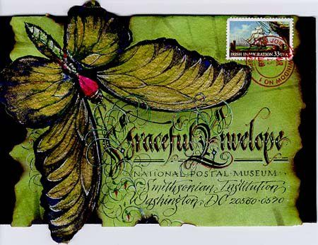 Calligraphy. Graceful Envelope Contest
