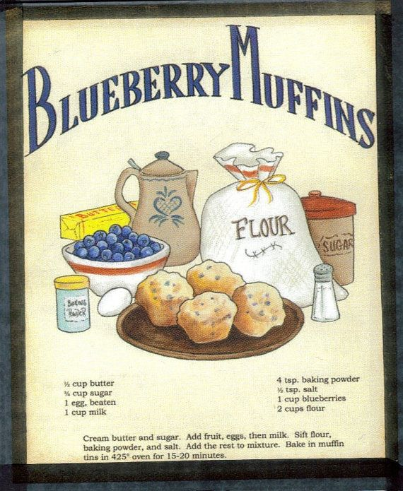 Hey, I found this really awesome Etsy listing at https://www.etsy.com/listing/99767223/retro-vintage-country-blueberry-muffin