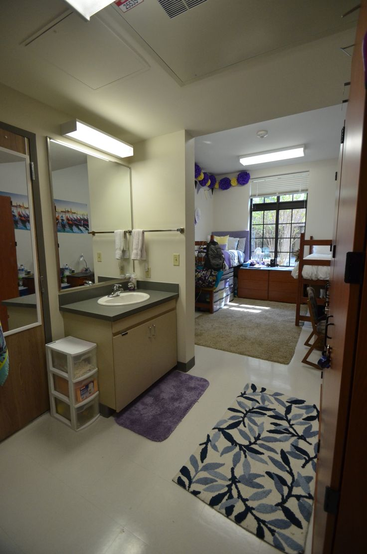 Cypress Hall has spacious, two-student rooms with suite-style bathrooms.  Each. College GoalsCollege HacksCollege Dorm ...