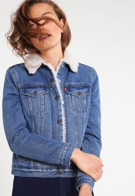 Levi's® VINTAGE SHERPA TRUCKER - Veste en jean - blue denim - ZALANDO.FR