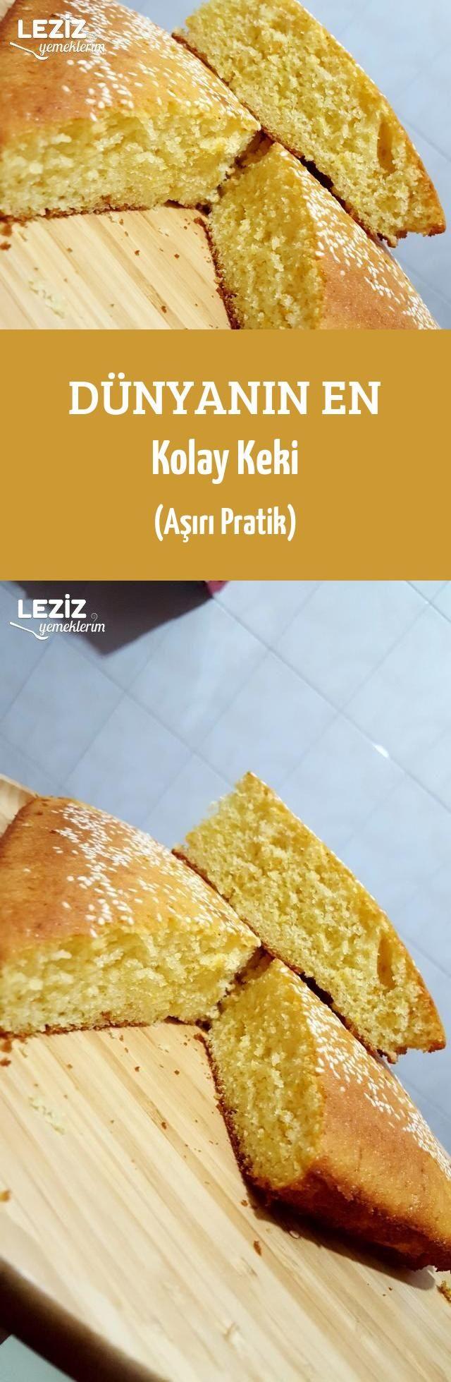 Dünyanın En Kolay Keki (Aşırı Pratik)