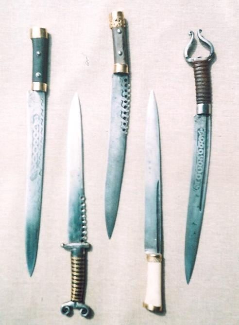 weapons used in the battle of the boyne