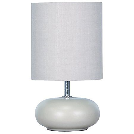 Mi Casa Athena Ceramic Lamp Stone 25cm