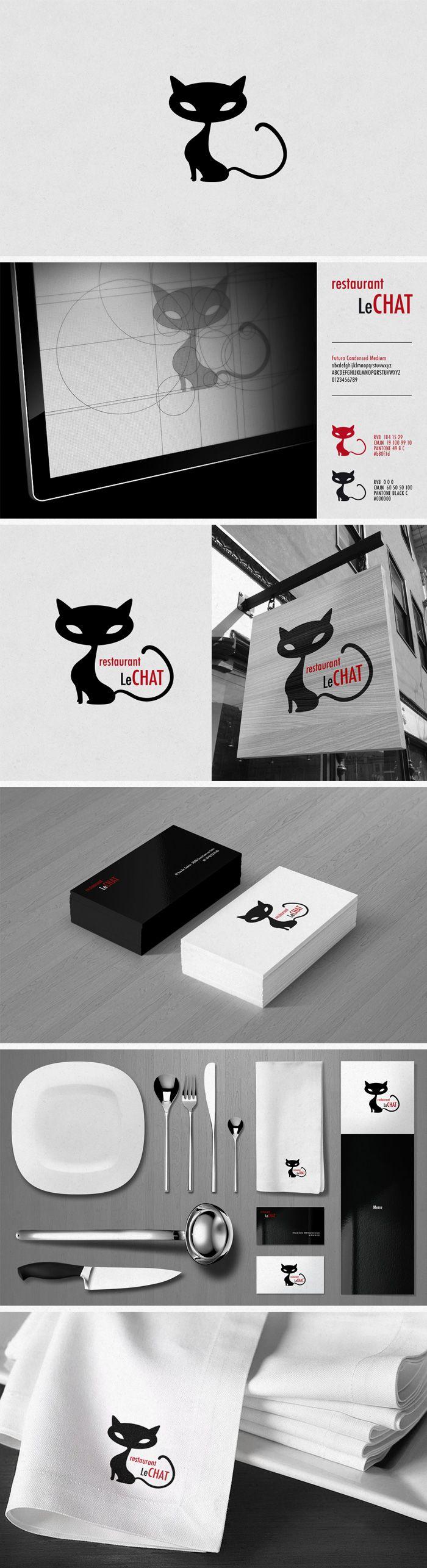 1000 id es sur le th me logo de chat sur pinterest logo inspiration logos et logos. Black Bedroom Furniture Sets. Home Design Ideas