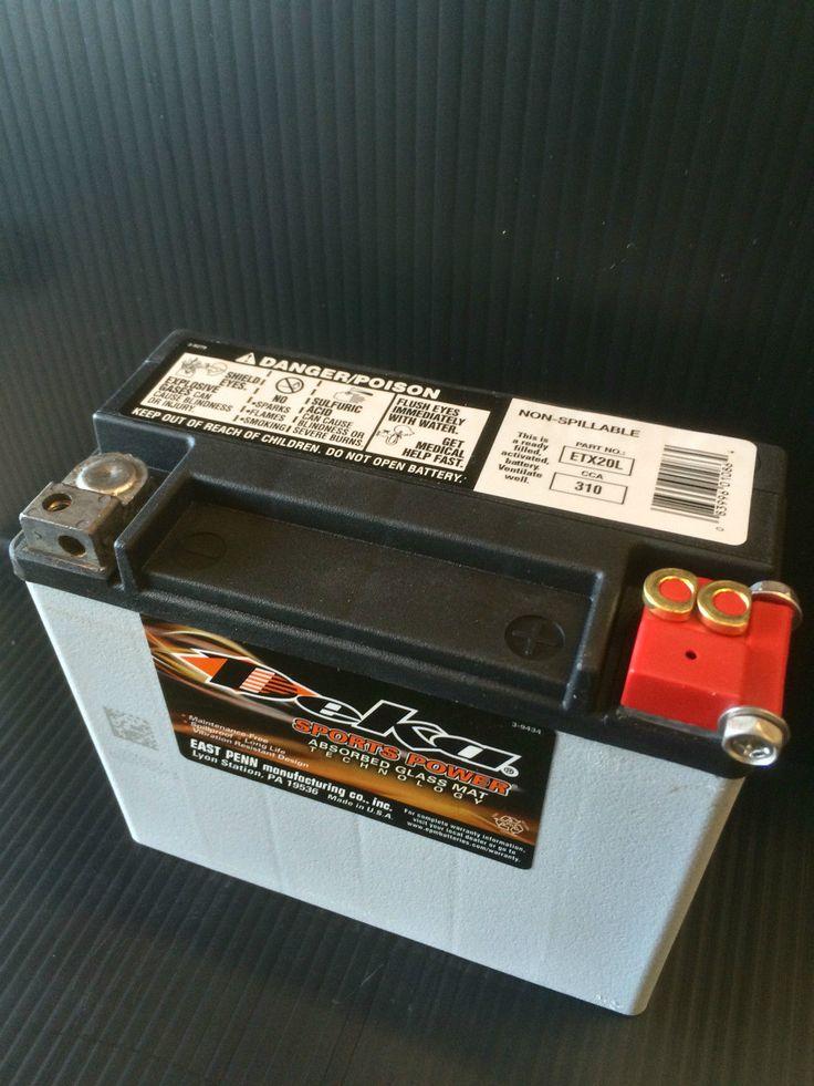 #harley Deka ETX20L AGM Battery Harley Davidson PWC Honda U.S.A MADE please retweet