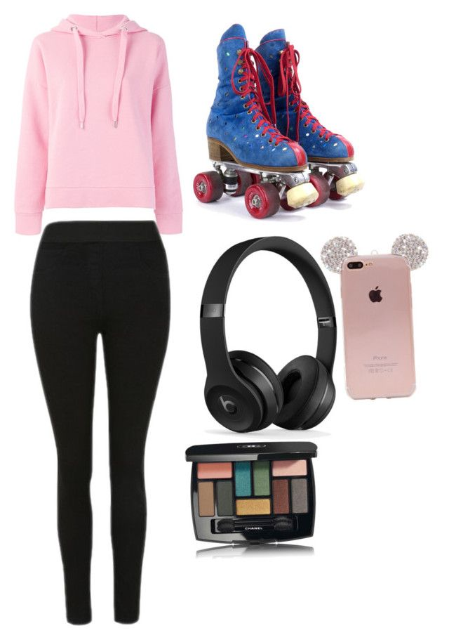 """""""Sans titre #2"""" by maheelaplante ❤ liked on Polyvore featuring Closed and Chanel"""